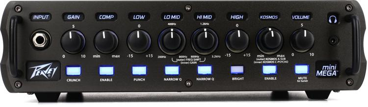 Peavey MiniMEGA 1000-Watt Lightweight Bass Head image 1
