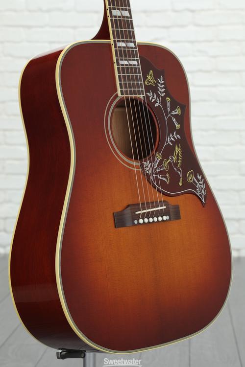Gibson Acoustic Hummingbird Vintage - Cherry Sunburst image 1