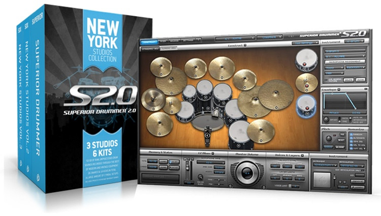Toontrack Superior Drummer 2.0 New York Studios Collection (Boxed) image 1