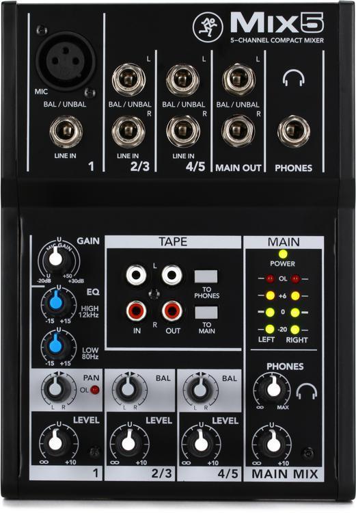 Mackie Mix5 Mixer image 1