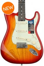 Fender American Elite Stratocaster - Aged Cherry Burst with Ebony Fingerboard