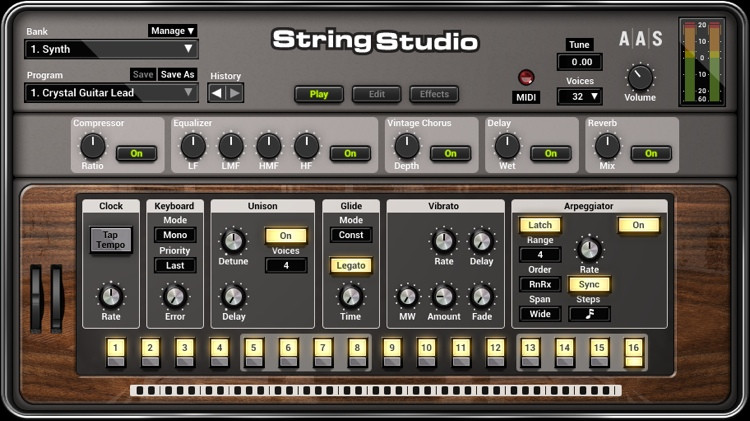 Applied Acoustics Systems String Studio VS-2 String Modeling Synthesizer image 1