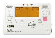 Korg TM-50 Tuner Metronome - White