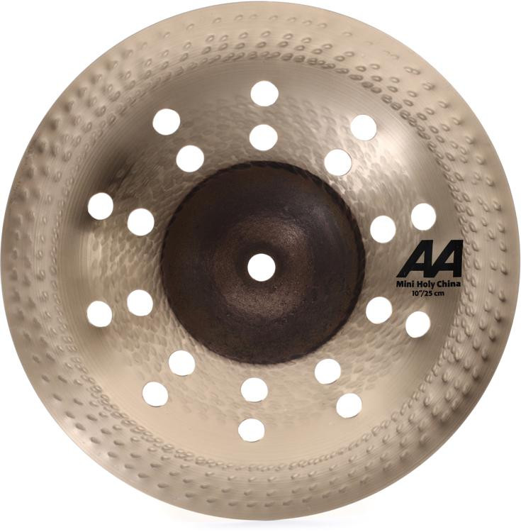 sabian 10 aa mini holy china cymbal sweetwater. Black Bedroom Furniture Sets. Home Design Ideas