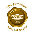 Vox Authorized Dealer