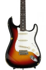 Fender Custom Shop 1970 Time Machine Relic Stratocaster - 3-color Sunburst with Rosewood Fingerboard