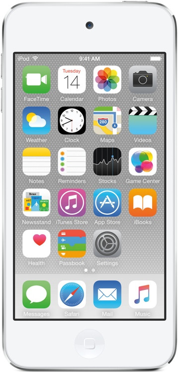 Apple iPod touch - 64GB - Silver image 1