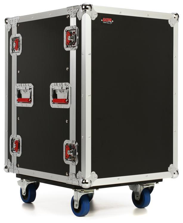 Gator G-TOUR 16U CAST - 16U, Standard Audio Road Rack Case w/ Casters image 1