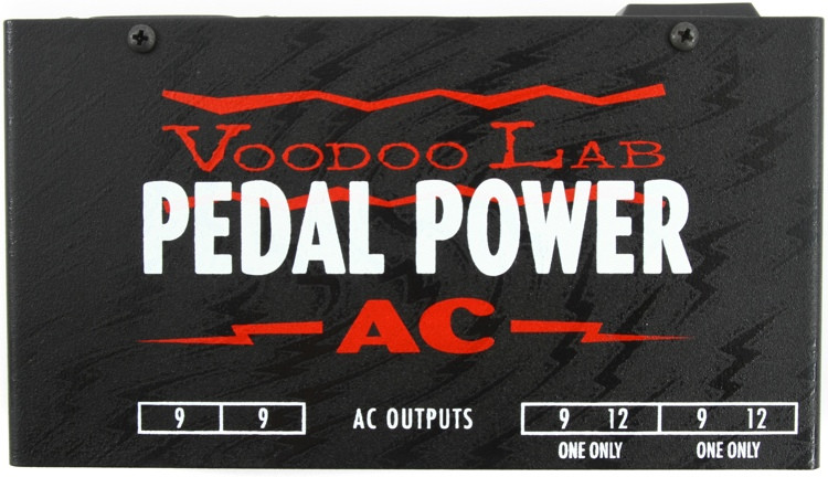 voodoo lab pedal power ac isolated power supply sweetwater. Black Bedroom Furniture Sets. Home Design Ideas