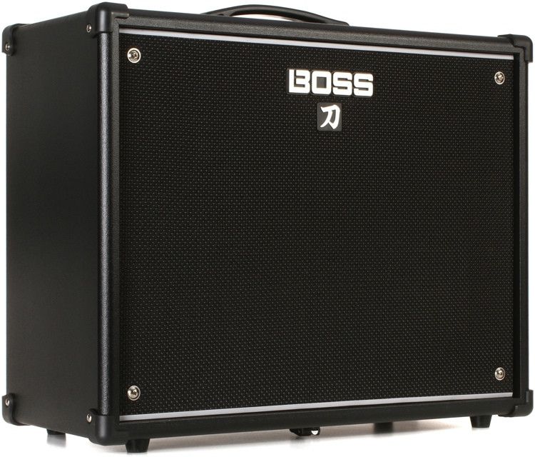 boss katana 100 100 50 0 5 watt 1x12 cosm combo amp sweetwater. Black Bedroom Furniture Sets. Home Design Ideas