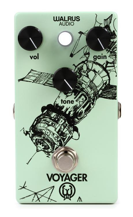 walrus audio voyager preamp overdrive sweetwater. Black Bedroom Furniture Sets. Home Design Ideas