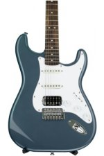 Squier Vintage Modified Stratocaster HSS - Charcoal Frost Metallic