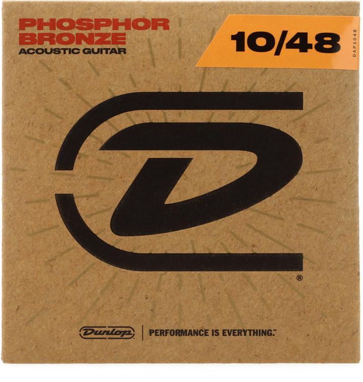 Dunlop DAP1048 Phosphore Bronze Extra Light Acoustic Strings image 1