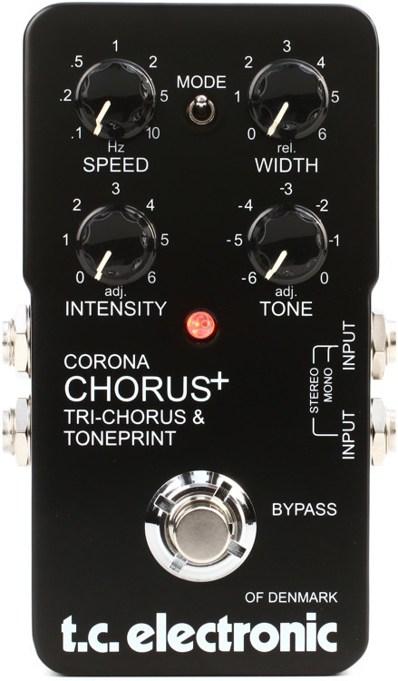 tc electronic corona scf chorus and tri chorus pedal sweetwater. Black Bedroom Furniture Sets. Home Design Ideas