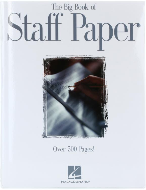 Hal Leonard Big Book of Staff Paper image 1