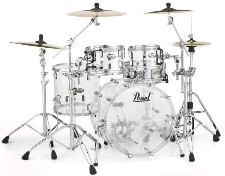 Pearl Crystal Beat Shell Pack 4-pc - Ultra Clear image 1