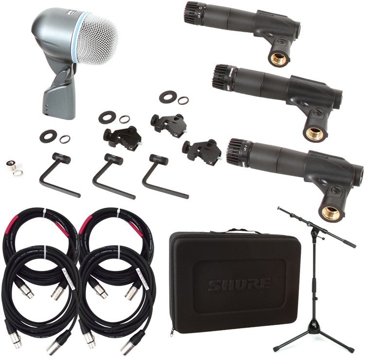 Shure DMK57-52 with Stand and Cables Package image 1