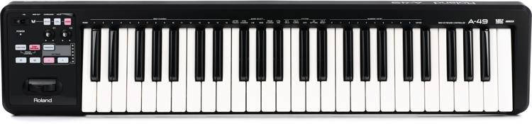 Roland A-49 Keyboard Controller - Black image 1