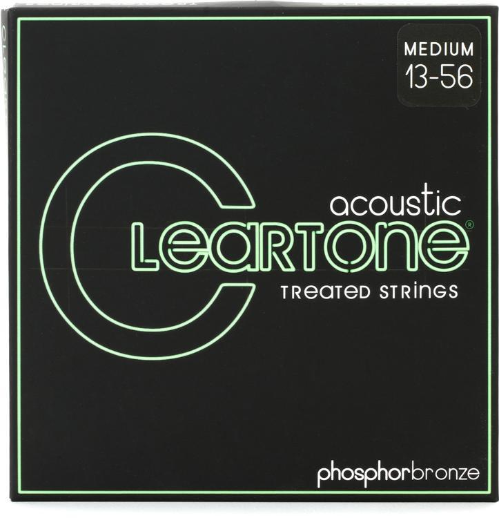Cleartone 7413 EMP Phosphor Bronze Acoustic Guitar Strings - .013-.056 Medium image 1
