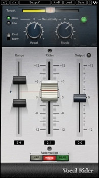 Waves Vocal Rider Plug-in for Academic Institutions image 1