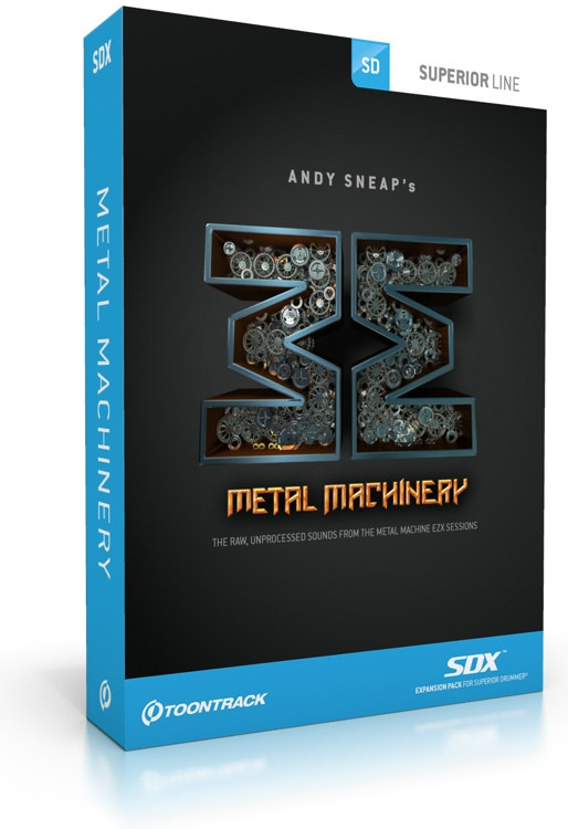 Toontrack Metal Machinery SDX (boxed) image 1
