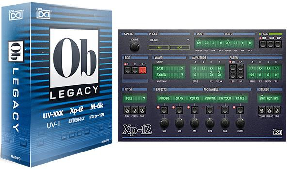 OB Legacy Virtual Instrument Suite