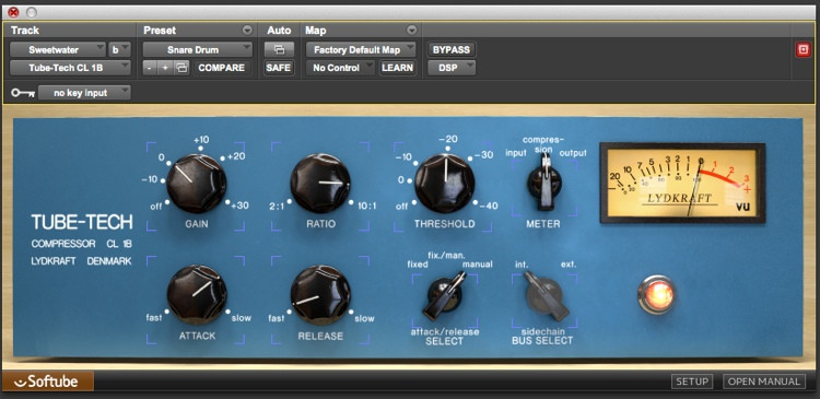 Softube Tube-Tech CL 1B Plug-in image 1