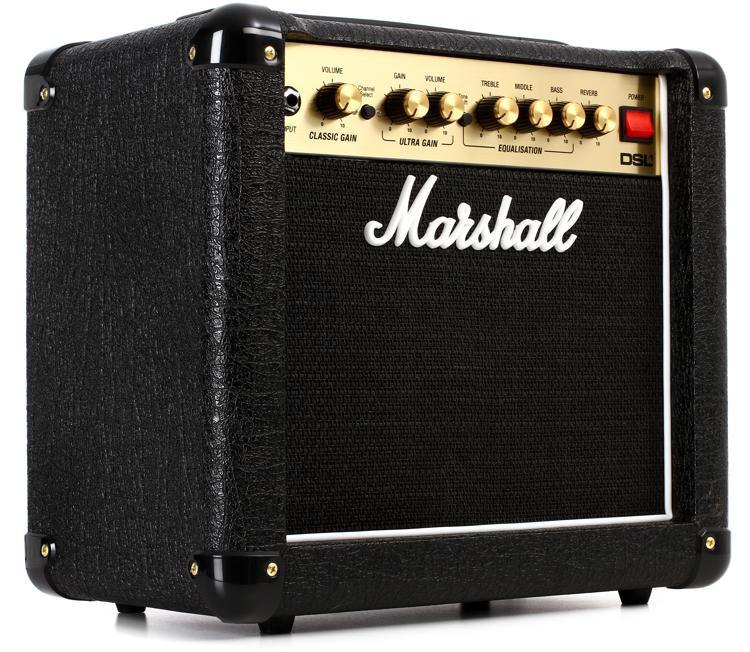 marshall dsl1cr 1 watt 1x8 tube combo amp sweetwater. Black Bedroom Furniture Sets. Home Design Ideas