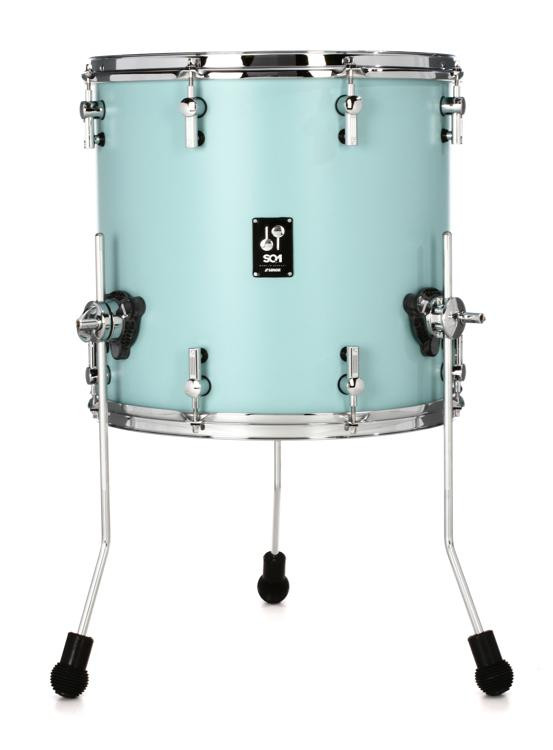 Sonor Sq1 Floor Tom 16 Quot X 15 Quot Cruiser Blue Sweetwater