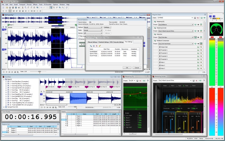 Magix Sound Forge Pro 11 image 1