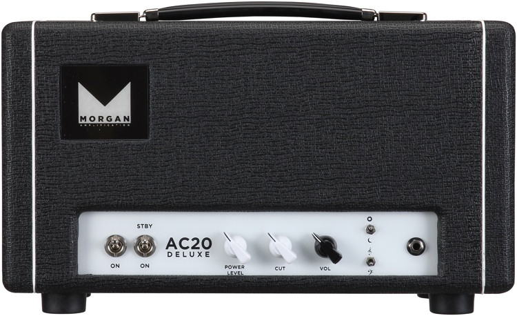 Morgan Amps AC20 Deluxe 20-watt Tube Head - Black image 1