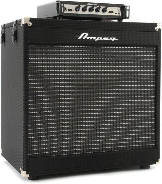 ampeg portaflex pf 350 head and pf115 cabinet stack sweetwater. Black Bedroom Furniture Sets. Home Design Ideas