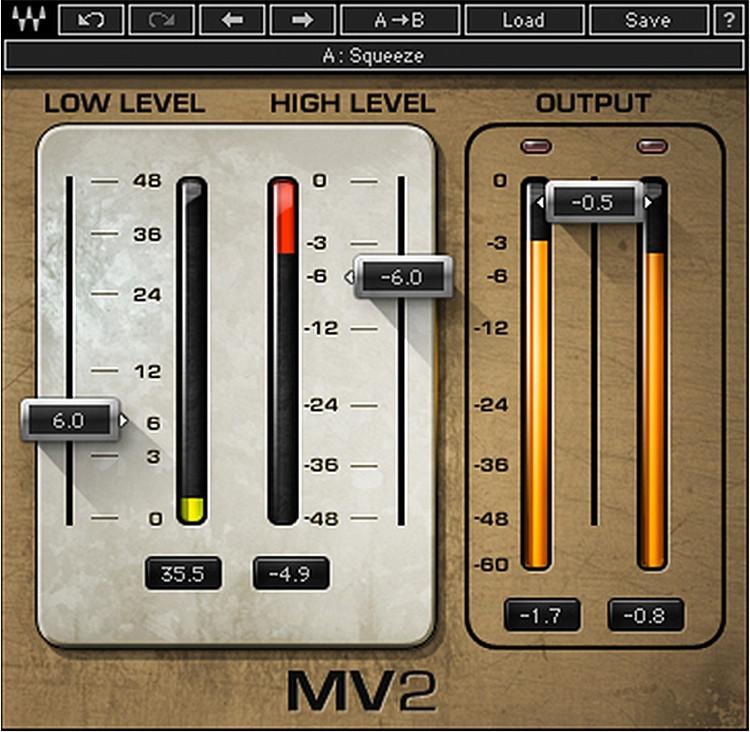 Waves MV2 Plug-in image 1