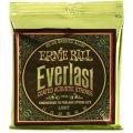 Ernie Ball 2558 Everlast Coated 80/20 Bronze Light Acoustic Strings