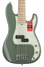 Fender American Professional Precision Bass V - Antique Olive with Maple Fingerboard