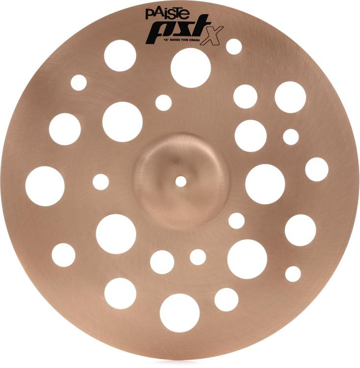 Paiste PSTX Swiss Thin Crash - 18