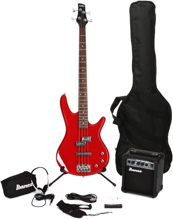 Ibanez IJXB150B Jumpstart Bass Pack - Red image 1