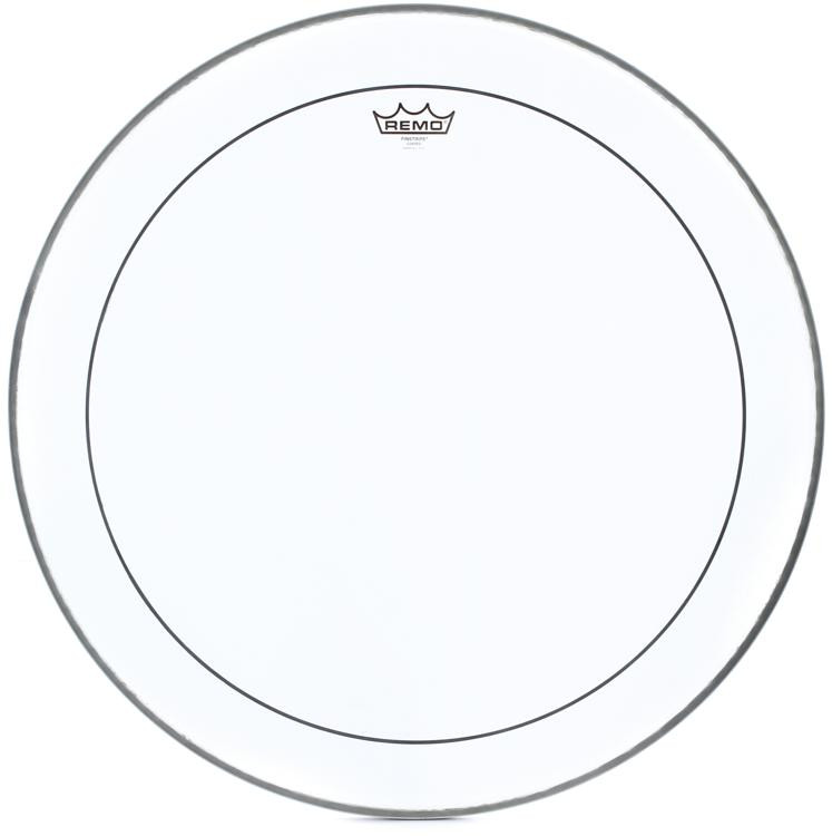 Remo Clear Pinstripe Drum Head -18