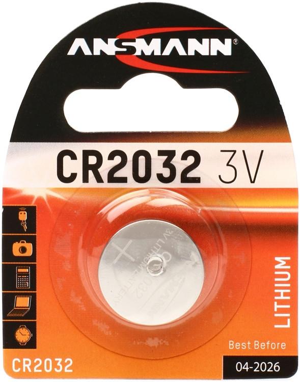 Ansmann CR2032 Lithium Button Cell image 1