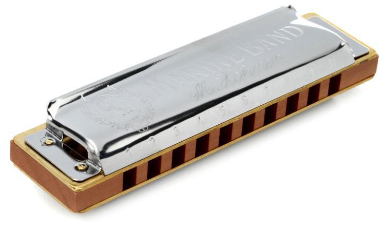 Hohner Marine Band - Key of B image 1