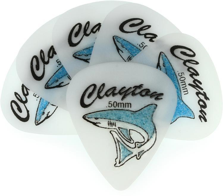Clayton Sand Shark Picks 6-pack .50mm image 1