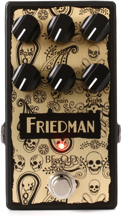 Friedman BE-OD LTD Overdrive Pedal - Artisan Edition image 1