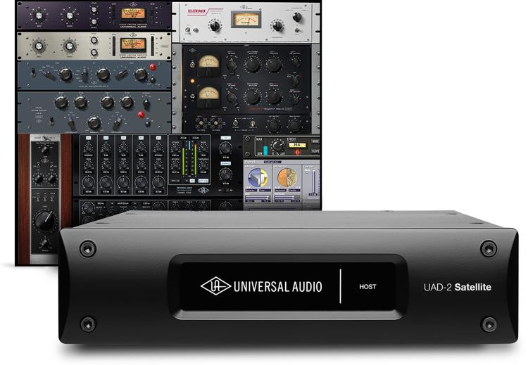 Universal Audio UAD-2 Satellite USB QUAD Custom image 1