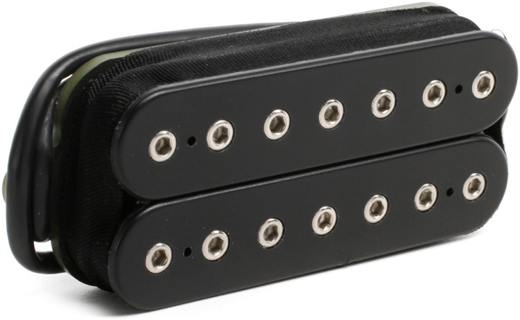 DiMarzio Titan 7 Neck Humbucker Pickup - Black image 1