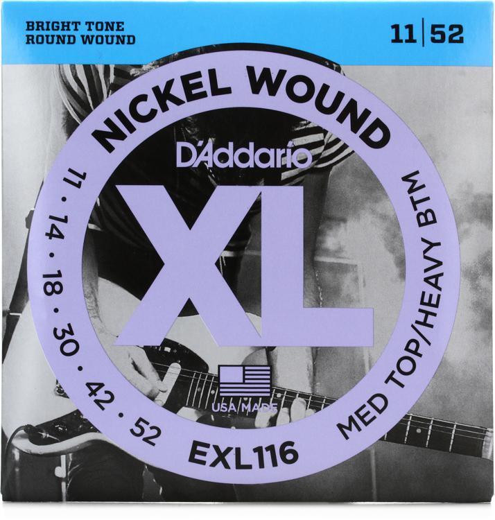 D\'Addario EXL116 Nickel Wound Medium Top/Heavy Bottom Electric Strings image 1