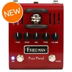 Fuzz Fiend Tube Fuzz Pedal