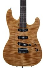 Godin Passion RG-3 - Natural Flame, Rosewood FB