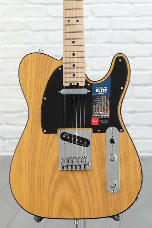 Fender American Elite Telecaster - Butterscotch Blonde with Maple Fingerboard