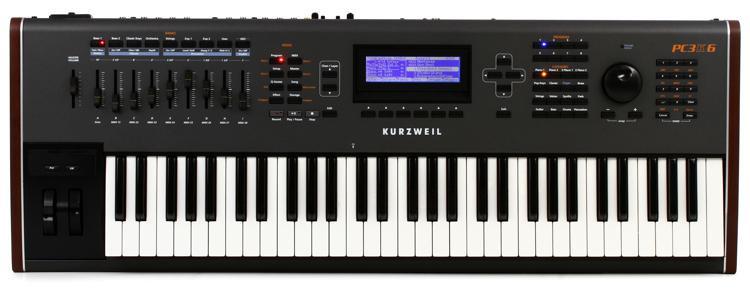 Kurzweil PC3K6 61-key Synthesizer Workstation image 1