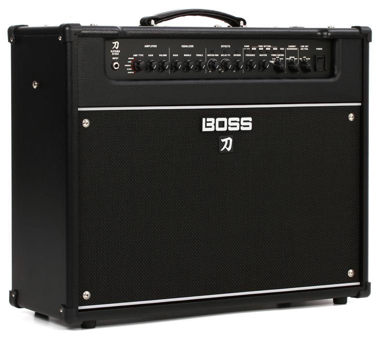 boss katana artist 100 watt 1x12 combo amp sweetwater. Black Bedroom Furniture Sets. Home Design Ideas